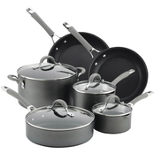 Meyer Circulon Elementum 10 pc. Hard-Anodized Nonstick Cookware Set