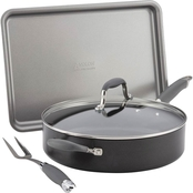 Anolon 4-Piece Cookware Set Graphite