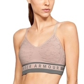 Under Armour Seamless Longline Jacquard Bra