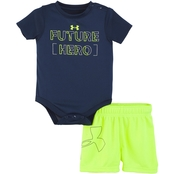 Under Armour Infant Boys Future Hero Set