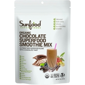 Sunfood Superfood Smoothie Mix, Chocolate, 8 oz.