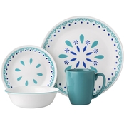 Corelle Santorini Sky 16 pc. Dinnerware Set