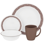 Corelle Sand Sketch 16 pc. Dinnerware Set