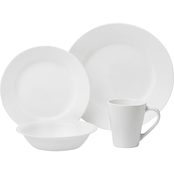Corelle 16 Piece Dinnerware Set Dazzling White