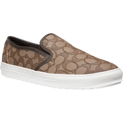 COACH Women's Signature Slip On Sneakers