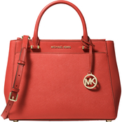 Michael Kors Gibson Leather Satchel