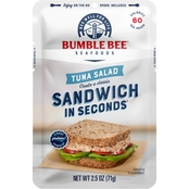 Bumble Bee Sandwich in Seconds Tuna Salad 2.5 oz.