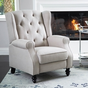 Sydney Pushback Fabric Recliner