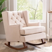 Abbyson Thatcher Fabric Rocker