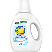 All Ultra Free Clear Liquid Detergent 36 oz.