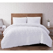 Brooklyn Loom Jameson Tufted Chenille Comforter Set