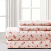 Pacific Coast Textiles Printed 4 pc. Sheet Set