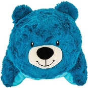 Animal Adventure Popovers Travel Pillow Blue Bear
