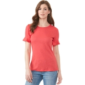 Michael Kors Cotton Slub Tee