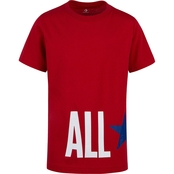 Converse All Star Wrap Cotton Short Sleeve Tshirt