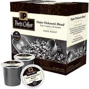 Keurig Peet's Coffee, Major Dickason's Blend 64 ct.