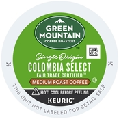 Keurig Green Mountain Coffee, Colombian Fair Trade Select 72 ct.
