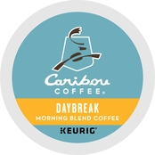 Keurig Caribou Coffee, Daybreak Morning Blend 72 ct.