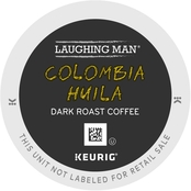 Keurig Laughing Man Coffee, Columbia Huila 64 ct.
