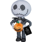 Halloween Greeter-Big Head Jack Skellington-OPP-Disney