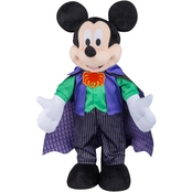 Halloween Greeter-Mickey in Purple Vampire Outfit-OPP-Disney