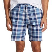 Nautica Plaid Classic Fit Shorts