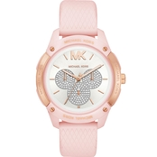 Michael Kors Women's Textured Silicone Multifunction Ryder Watch
