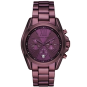 Michael Kors Women's Stainless Steel Chronograph Bradshaw Watch