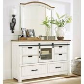 Benchcraft Wystfield Dresser and Mirror Set