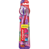 Colgate Kids Trolls Extra Soft Manual Toothbrush 2 pk.