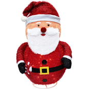 Jet Max Limited Lighted Fabric Santa