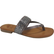 Jellypop Shoes Aubree Jeweled Thong Sandals