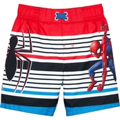 Marvel Toddler Boys Spiderman Swim Trunks