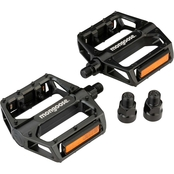 Mongoose Universal Alloy Pedals 1/2 x 9/16 in.