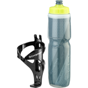 Schwinn Reflective and Insulated 26 oz Water Bottle with Cage