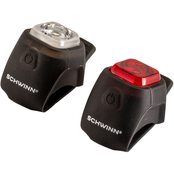 Schwinn Quick Wrap USB Rechargeable Light Set 30 Lumen