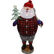 Puleo 48 in. Santa with LED Lights