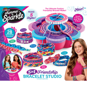 Cra-Z-Art Shimmer n Sparkle Ultimate Friendship Bracelet Maker