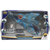 Agglo Fighter Jet Play Set