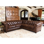 Abbyson Tuscan 3 pc. L Sectional