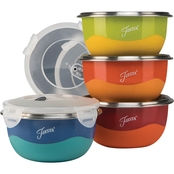 Fiesta Microwave Safe 8 pc. Prep Bowl Set