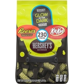 Hershey's Halloween Chocolate Snack Size Glow in the Dark Candy 66.5 oz, 6 ct.