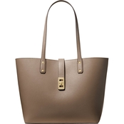 Michael Kors Karson Carryall Leather Tote Handbag