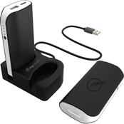 Digipower Twin Power Banks with Wireless Charging Station