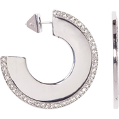 Vince Camuto Fan Hoop Earrings