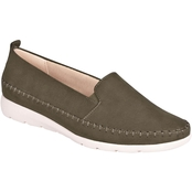 Avenue Flynn Stitched Trim Slip-On Shoes