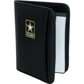 Mercury Luggage Army Embroidered Deluxe Padfolio