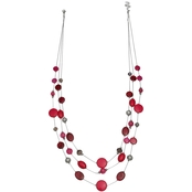 jules b. Pink Illusion Necklace