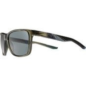 Nike Unrest Sunglasses with Cargo Khaki Frame and Dark Grey Lens