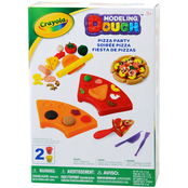 Crayola Modeling Dough Pizza Party Kit